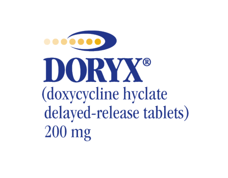 DORYX® (Doxycycline Hyclate Delayed-Release Tablets, USP)