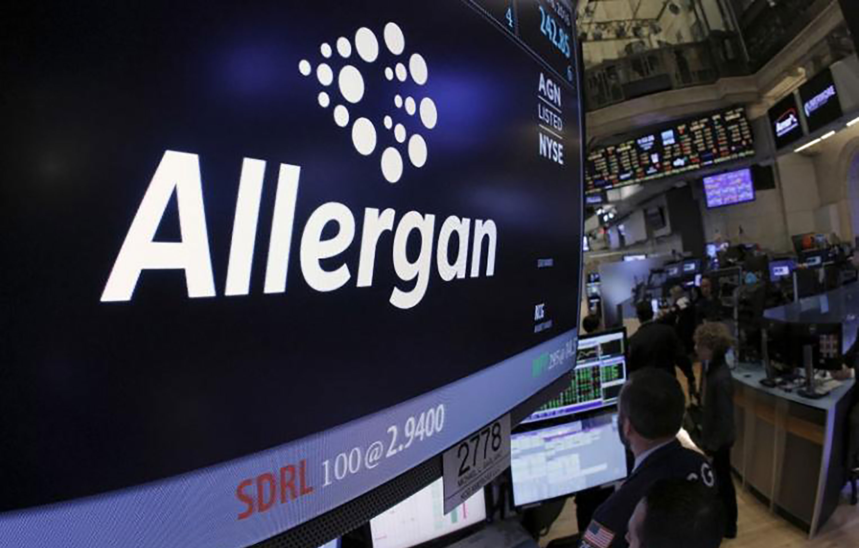 Allergan Stock Quote Investor Relations  Allergan  Allergan