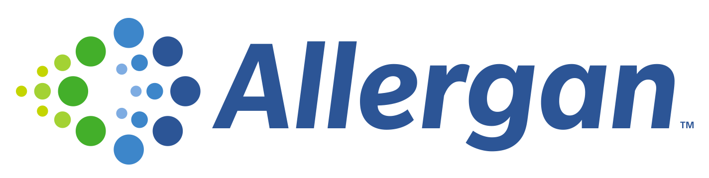 Sponsors & exhibitors - Allergan logo