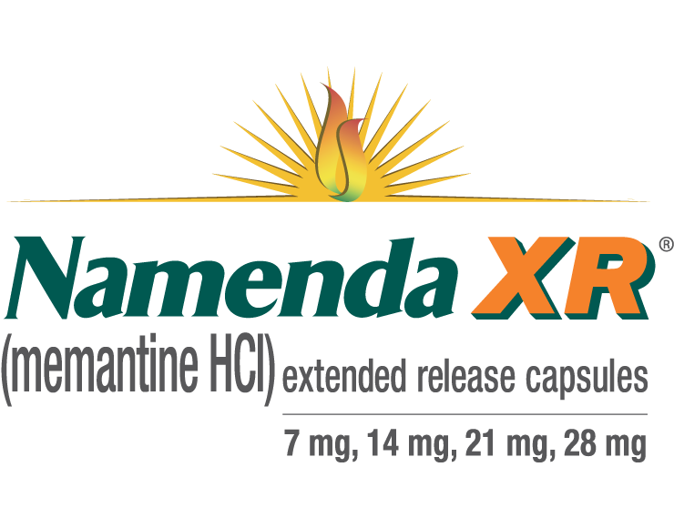Namenda XR® (memantine hydrochloride) extended release capsules, for oral use