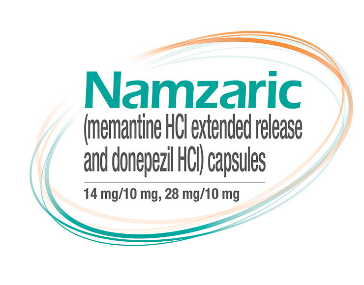 NAMZARIC (memantine hydrochloride extended-release and donepezil hydrochloride)