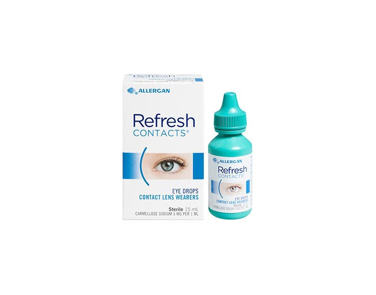 REFRESH CONTACTS® Eye Drops image