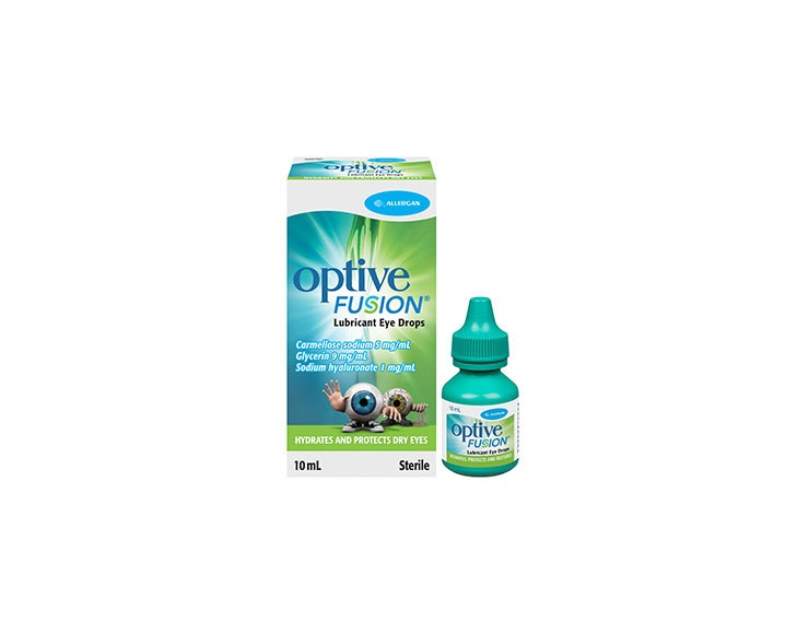 OPTIVE FUSION® Eye Drops image