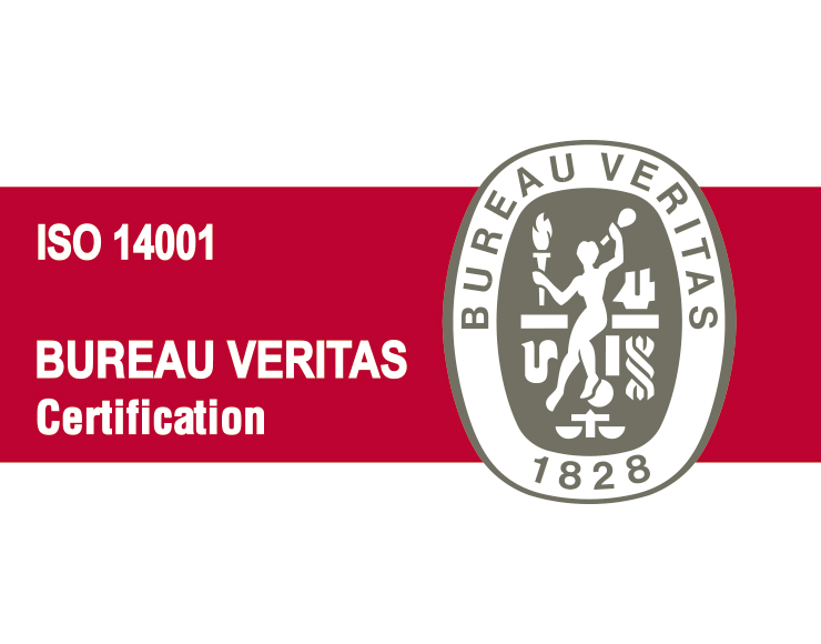 Certified in ISO14001