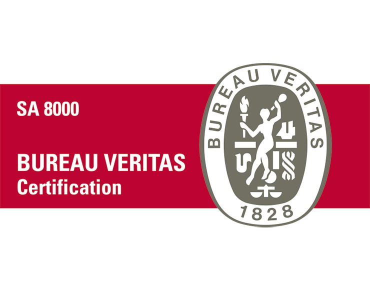 Certified in SA8000